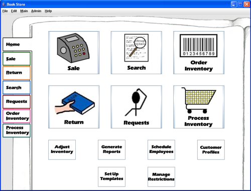 use case example of sales and inventory system All of these use cases interact with the inventory system however, the inventory  system never initiates actions within our system all of the use.